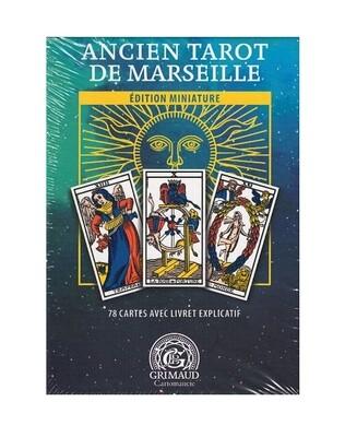 Mini ancien tarot de Marseille coffret Grimaud