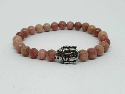 Bracelet Rhodonite, 6 mm