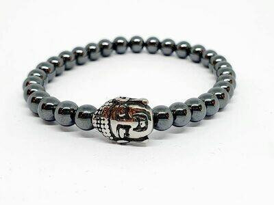 Bracelet Hématite, 6 mm