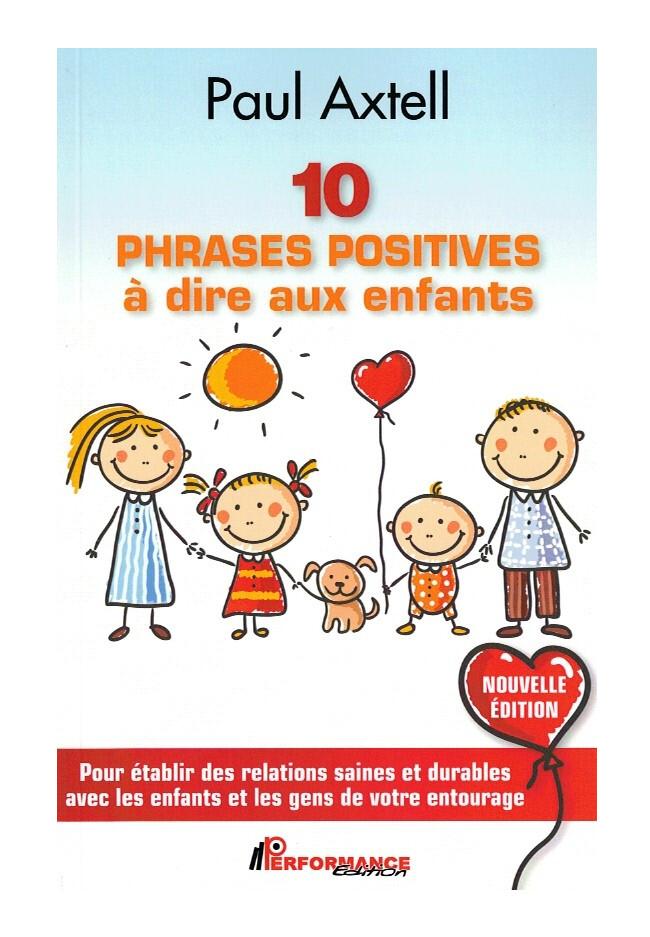 10 phrases positives A dire aux enfants