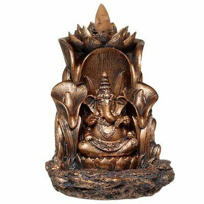 Brûleur d'encens à reflux Ganesh