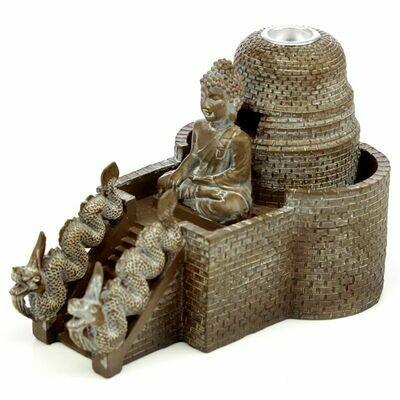 Brûleur d'encens à reflux temple bouddha Thaïlandais