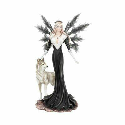Statue fée dark aura