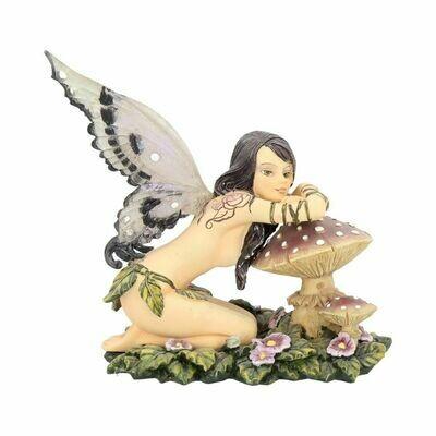 Statue fée champignon