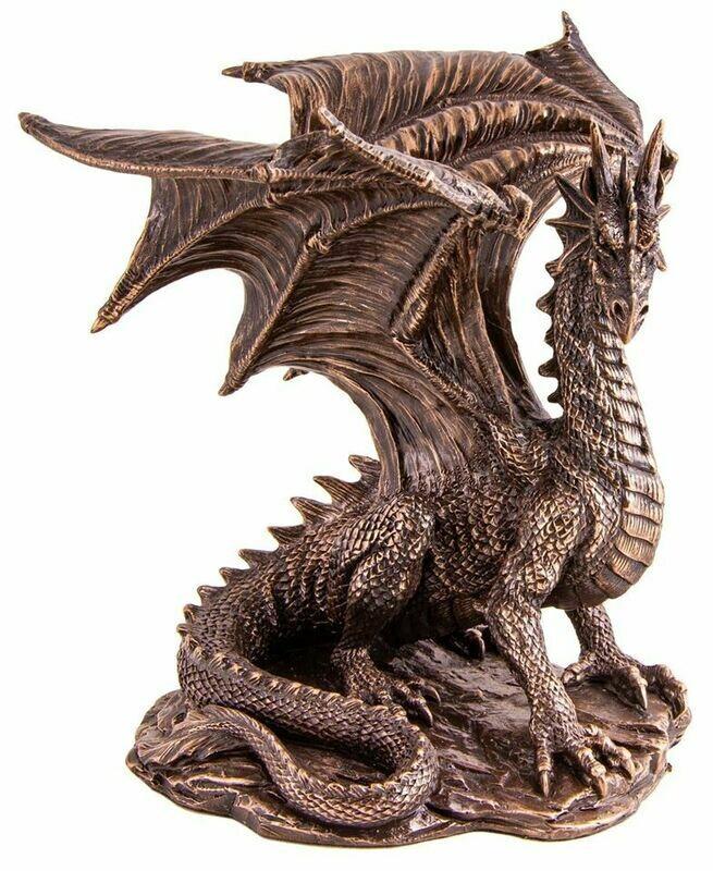 Statue dragon 19 cm