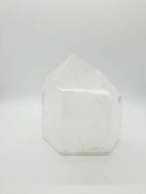 Cristal de roche pointe 12cm 2582gr