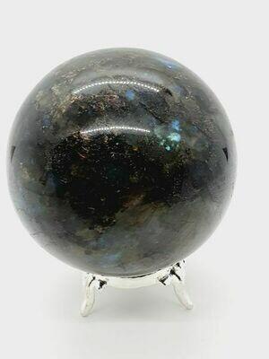 Labradorite boule 584gr 7cm