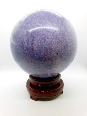Lépidolite boule 16cm 8050gr
