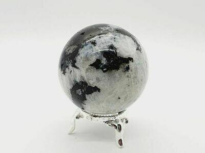 Pierre de lune arc-en-ciel 244gr
