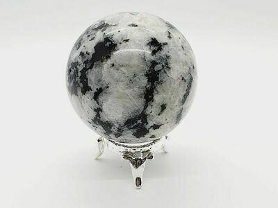 Pierre de lune arc-en-ciel  5.5 cm 334gr