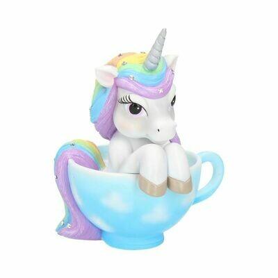 Licorne dans sa tasse 14 cm