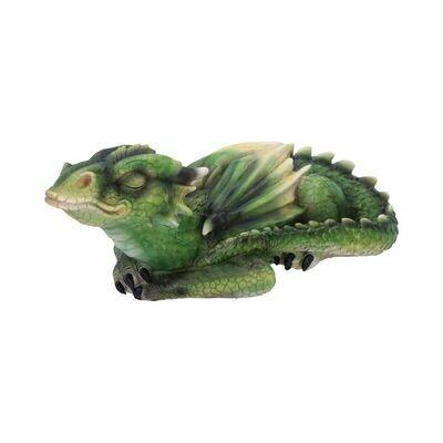 Dragon émeraude endormi 31.30 cm