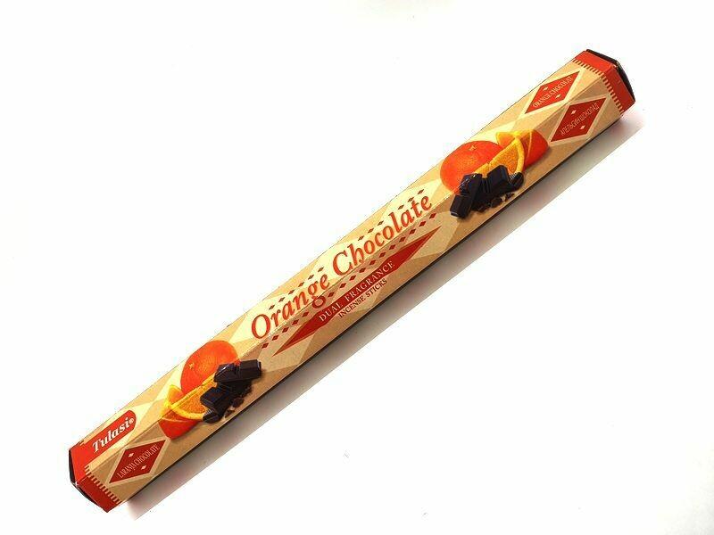 Encens orange chocolat 20g