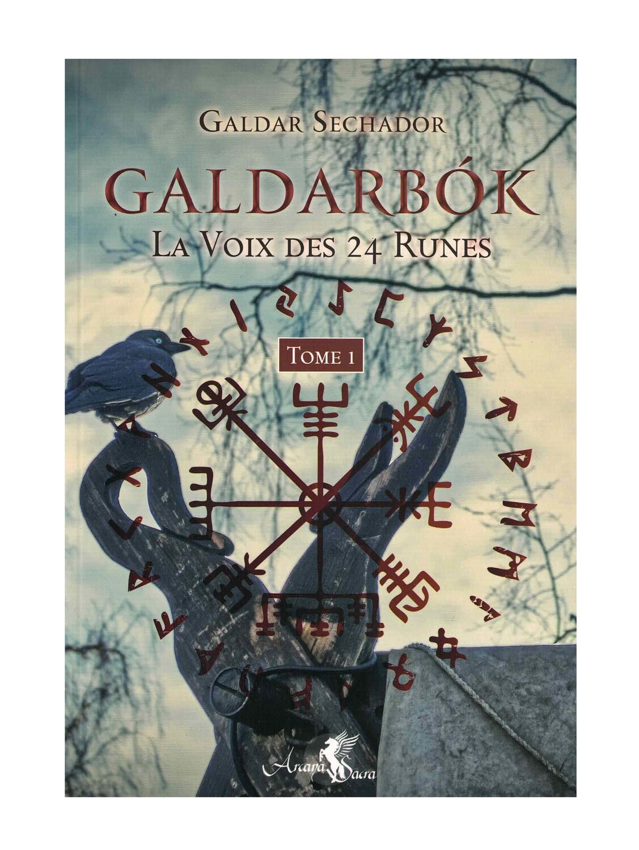 Galdarbók la voix des 24 runes Tome 1