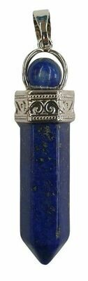 Pendentif pointe de lapis lazuli