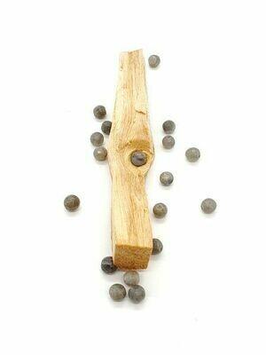 Labradorite  facettée 6 mm - Perles