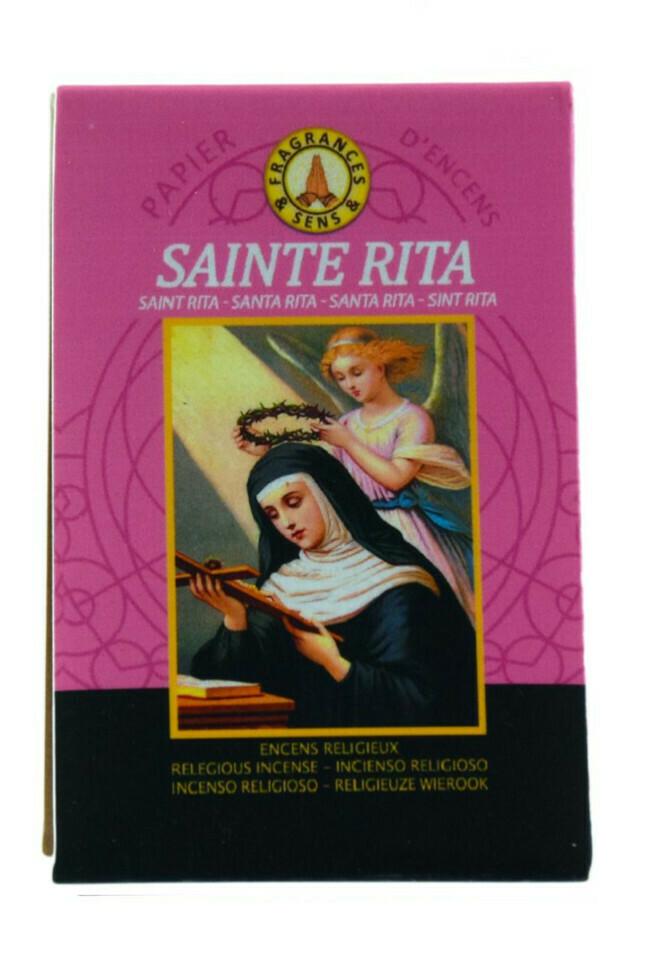 Papier d'Arménie Triple - Sainte Rita