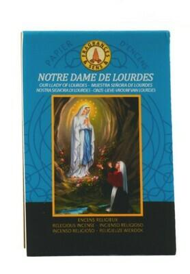 Papier d'Arménie Triple - Notre Dame de Lourdes