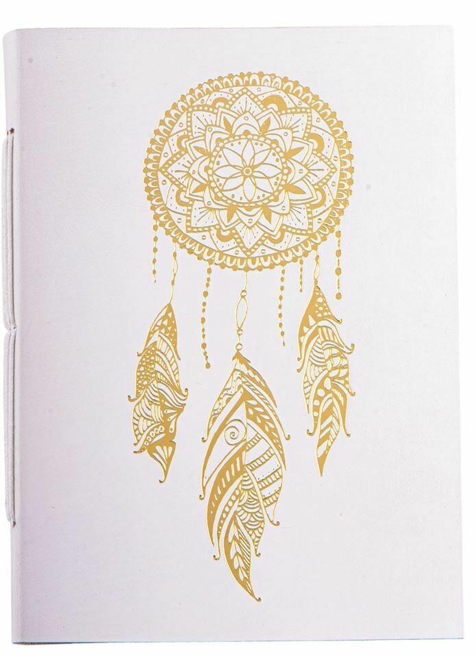 Cahier avec dorure Dreamcatcher