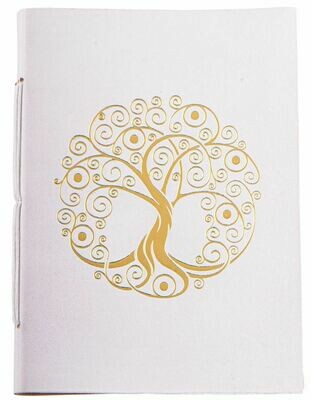 Cahier avec dorure Arbre de Vie