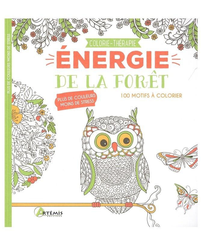 Énergie de la forêt 100 motifs à colorier