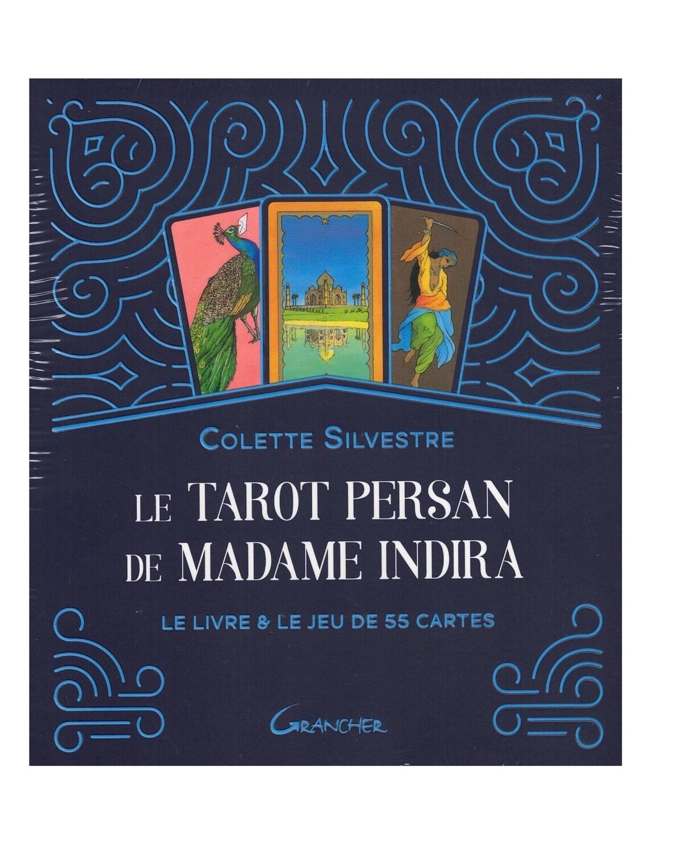 Le tarot persan de Madame Indira le livre et le jeu coffret Grancher
