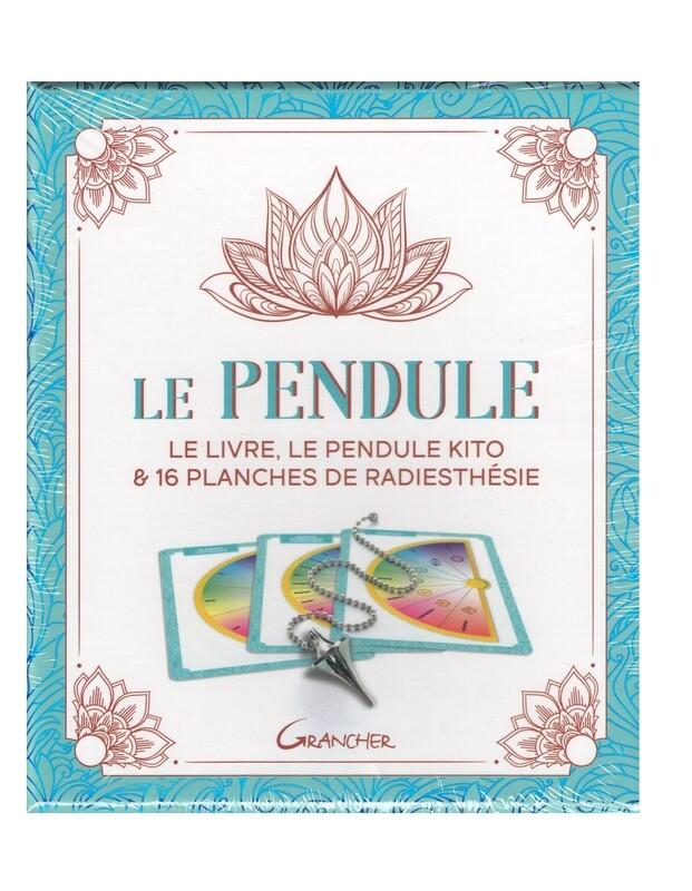 Le Pendule le livre, le pendule Kito & 16 planches de radiesthésie