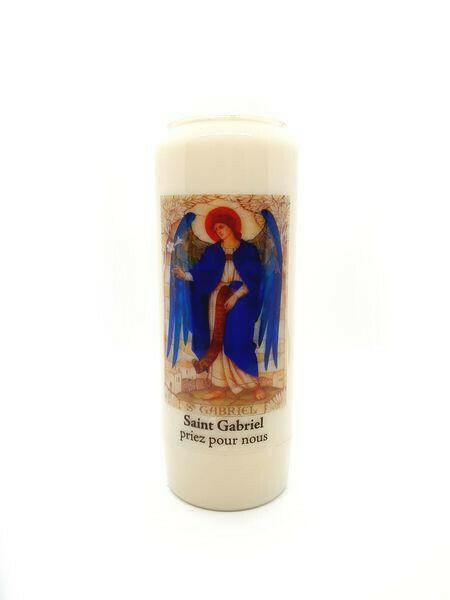 Bougie Neuvaine Saint Gabriel