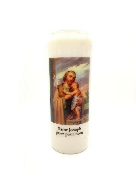 Bougie Neuvaine Saint Joseph