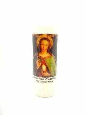 Bougie Neuvaine Sainte Marie-Madeleine