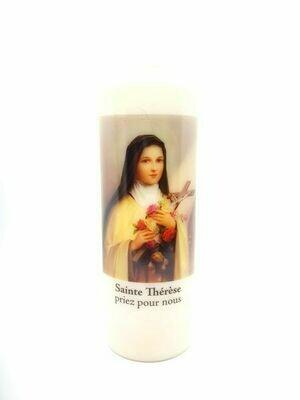 Bougie Neuvaine Sainte Thérèse