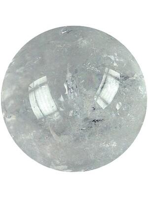 Sphère de cristal de roche - 40 mm