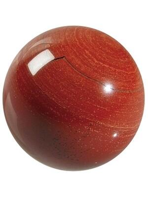 Sphère Jaspe Rouge - Pièce de 40 mm