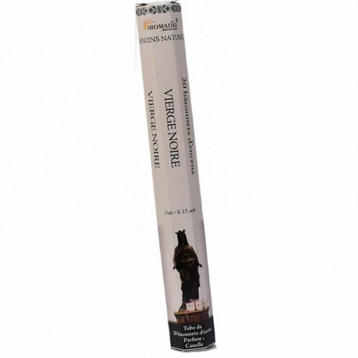 Encens vierge noire à la cannelle - 20 gr - aromatika