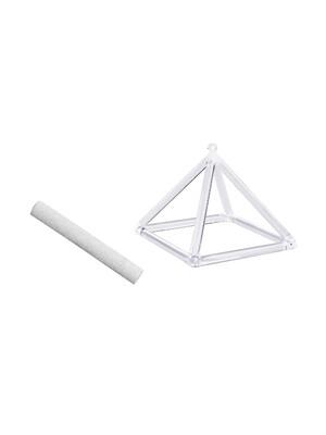 Pyramide chantante en Cristal 10 cm