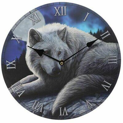 Horloge imprimée - Le Gardien du Nord par Lisa Parker