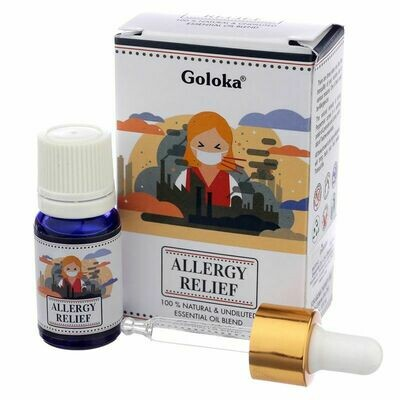 Mélange d'Huile Goloka - Soulagement des Allergies