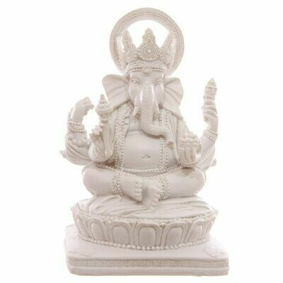 Ganesh Blanc 13.5 cm