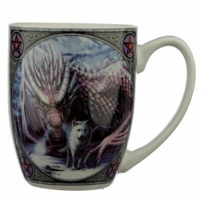 Mug en porcelaine Lisa Parker - Alliance Loup et Dragon