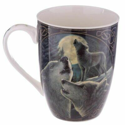 Mug en porcelaine Lisa Parker - chant du Loup