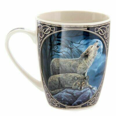Mug en porcelaine Lisa Parker - couple de Loups