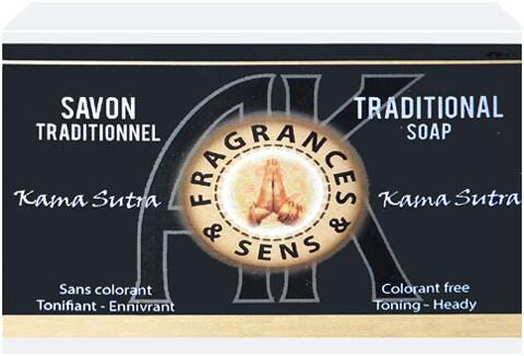 Savon fragrances & sens kama sutra 100g