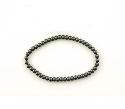 Bracelet Hématite, 4.5mm, mat