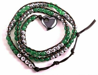 Bracelet Aventurine et aimant