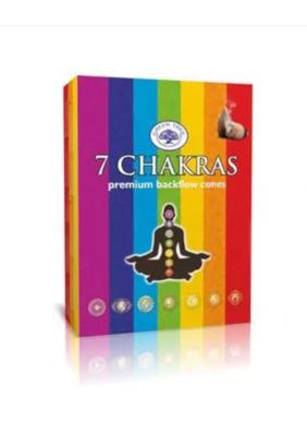 Encens à reflux 7 chakras - Green Tree