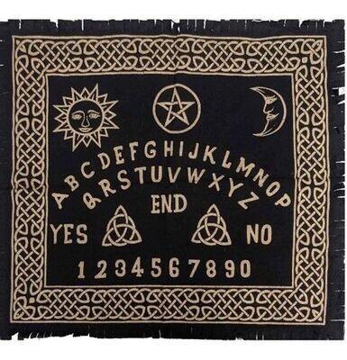 Tapis Ouija 60 x 60 cm