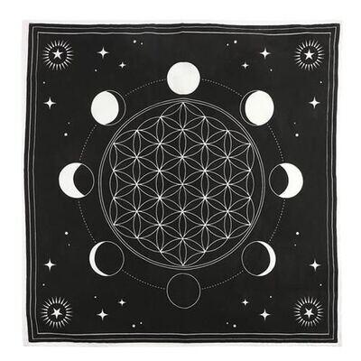 Tapis Phase de la Lune 70x70cm