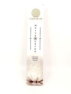 Encens White Lotus - Fleur de Vie