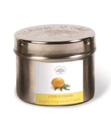 Bougie Green Tree - Citrus et Cèdre 150gr
