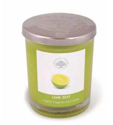 Bougie Green Tree - Zeste de Lime 200gr